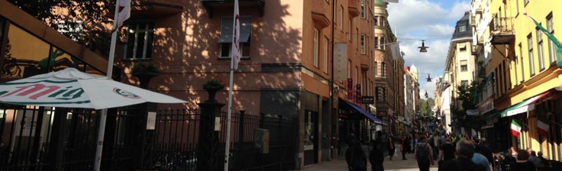 Takterrass på Drottninggatan 71