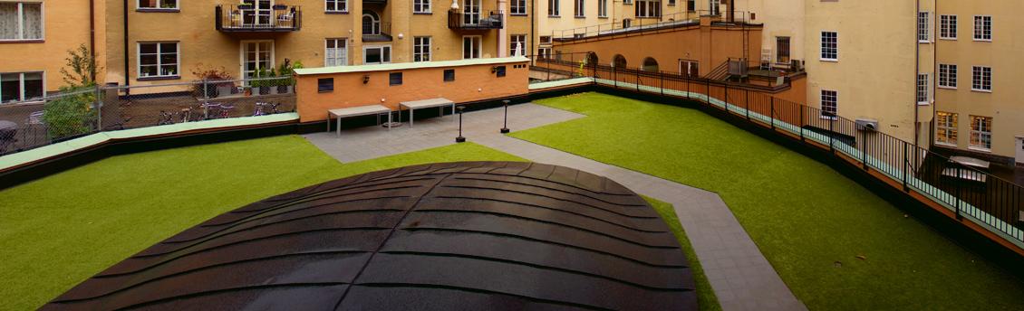 Innergårdsrenovering på S:t Eriksgatan 82