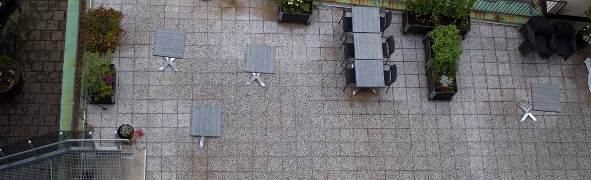 Spelbomskan terrasser